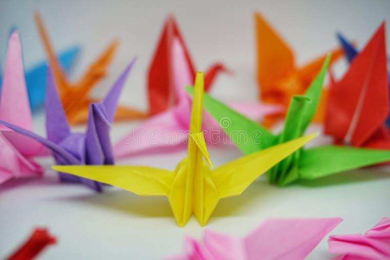 origami lizenzfreie stockfotos