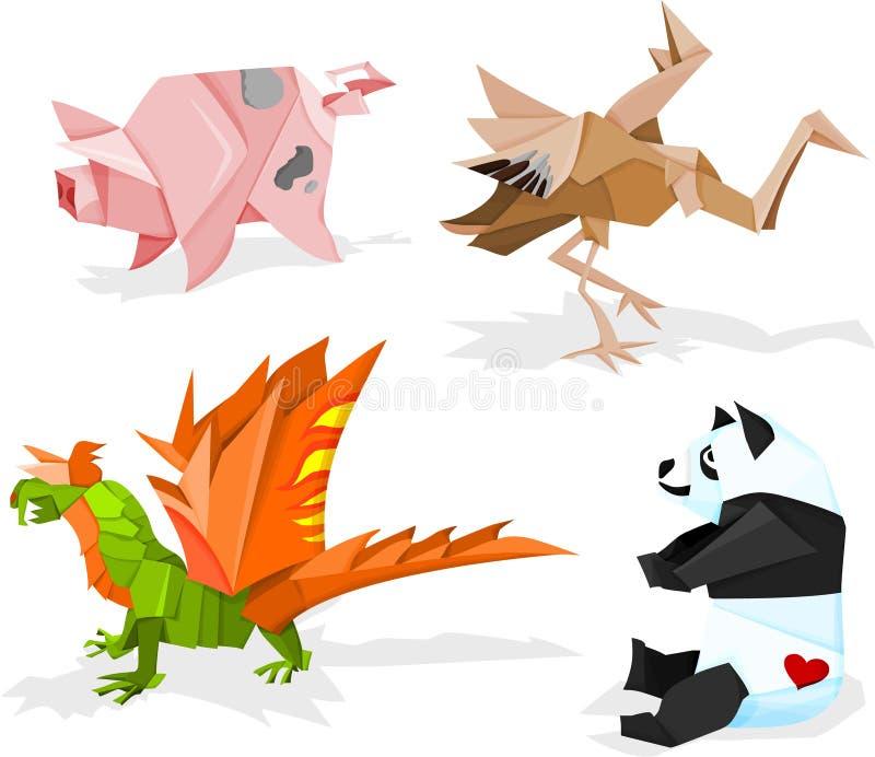 Origami royalty-vrije illustratie