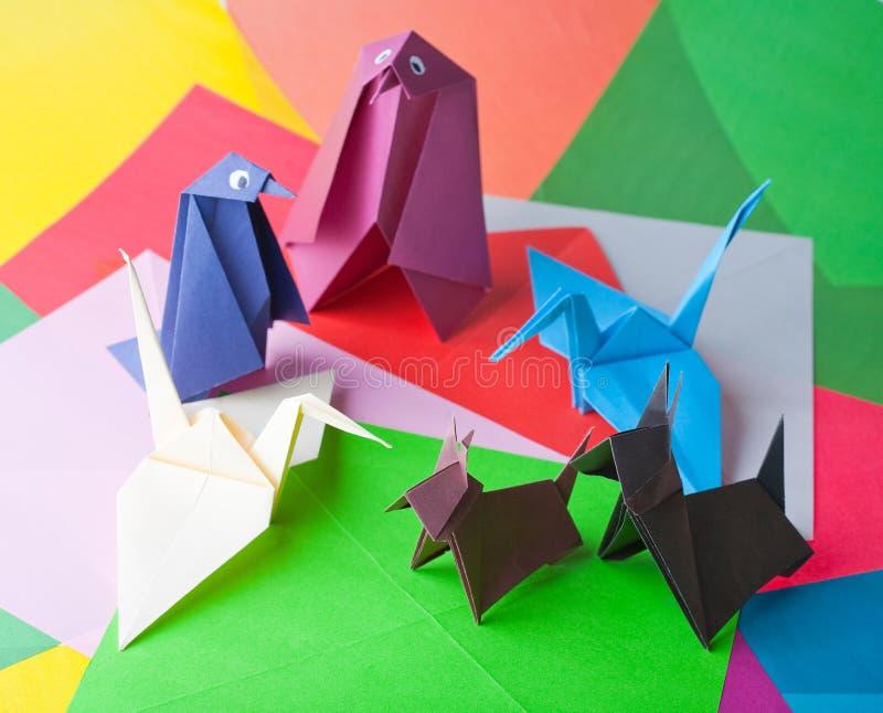 origami obraz royalty free