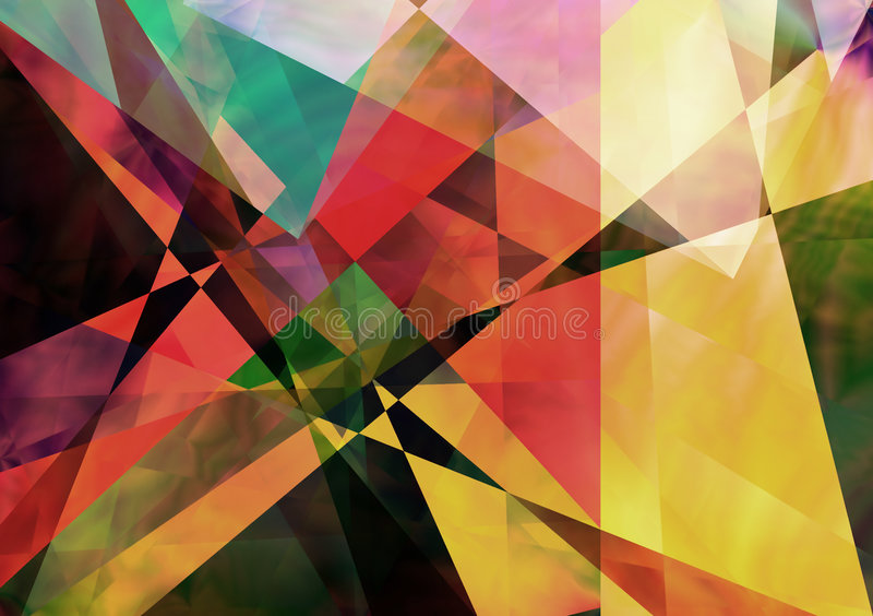 Origami ilustración del vector