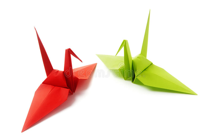 origami arkivfoton