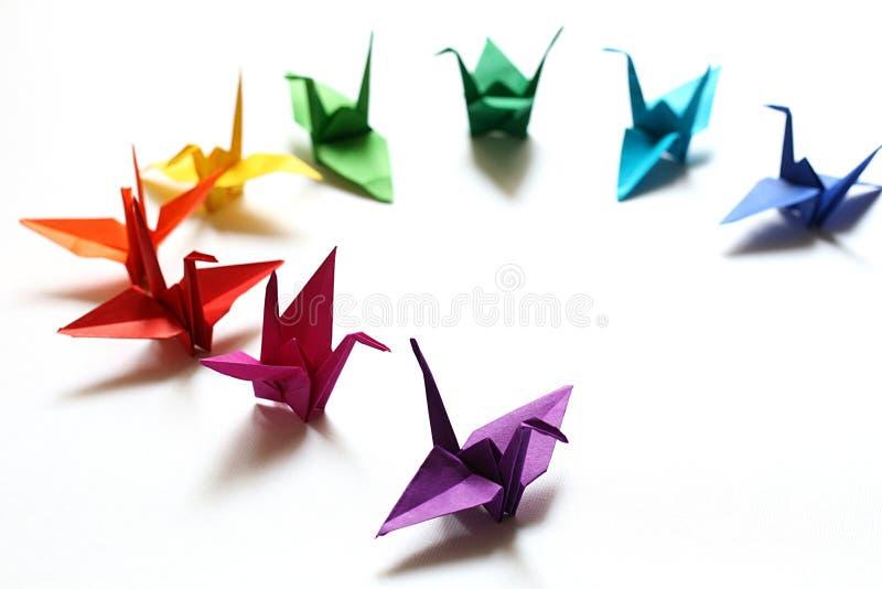 origami royaltyfria bilder