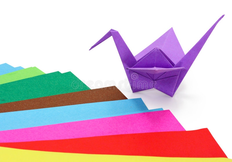 origami 免版税图库摄影
