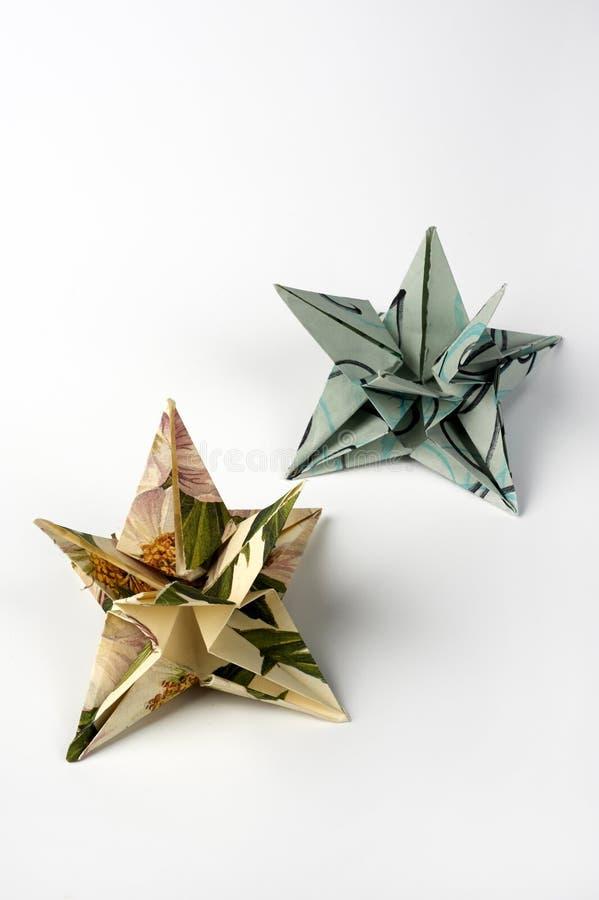 Origami стоковое изображение