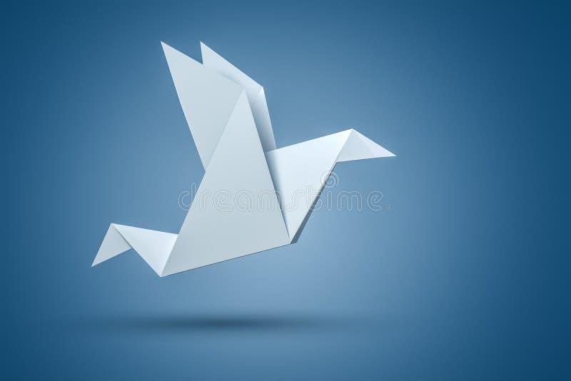 Origami Bird royalty free illustration