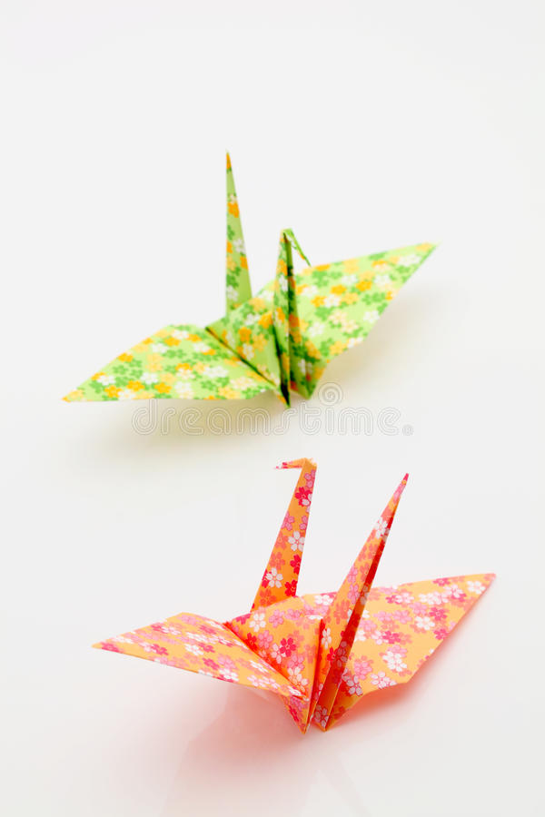 Download Origami birds stock image. Image of beautiful, hope, female - 18179837