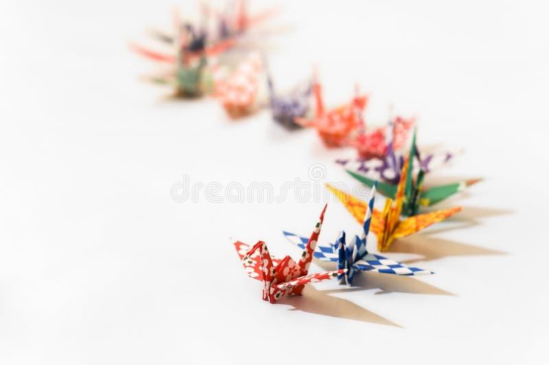 Download Origami birds stock photo. Image of crane, group, japanese - 2681438