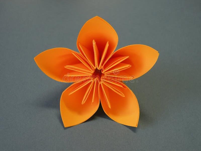 origami blume stockfoto bild von japanisch hand gebildet 12463366. Black Bedroom Furniture Sets. Home Design Ideas