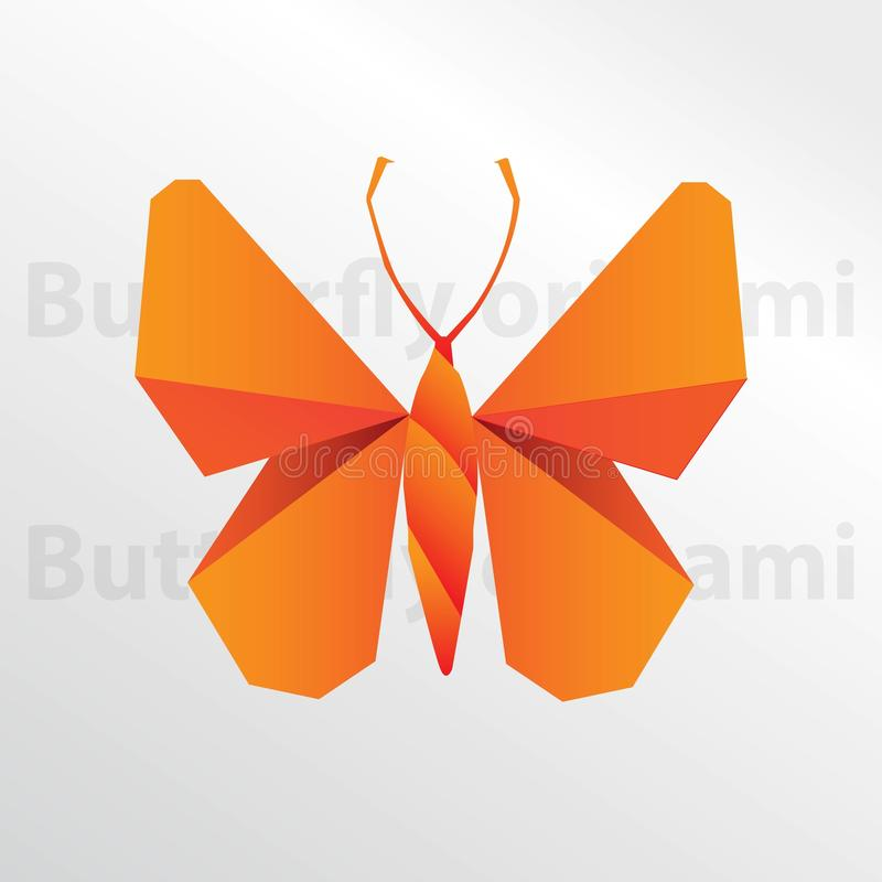 Download Origami Butterfly Paper Creative Art Stock Vector