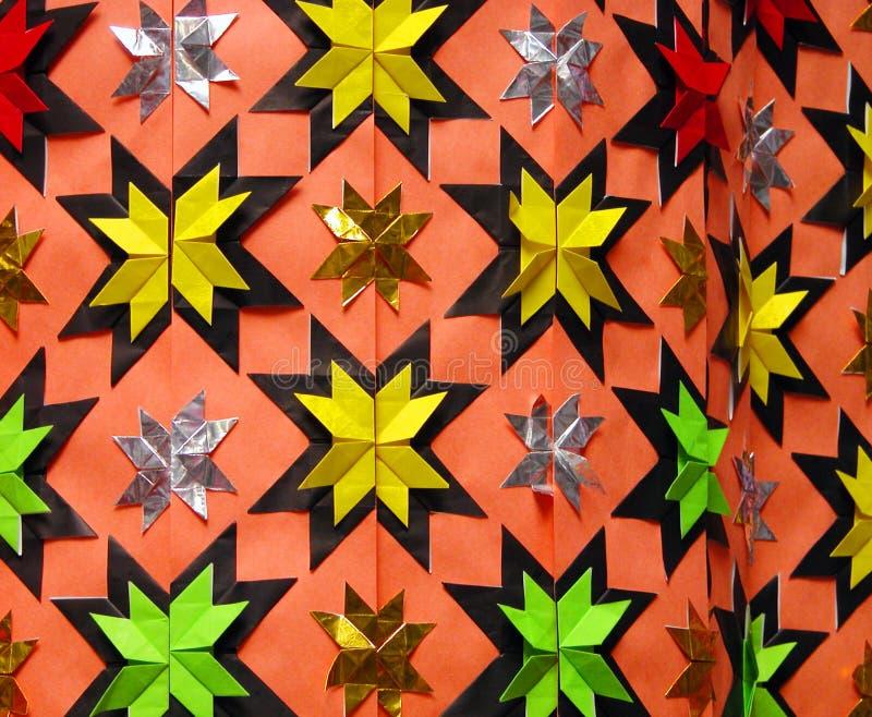 Origami decoration royalty free stock photos