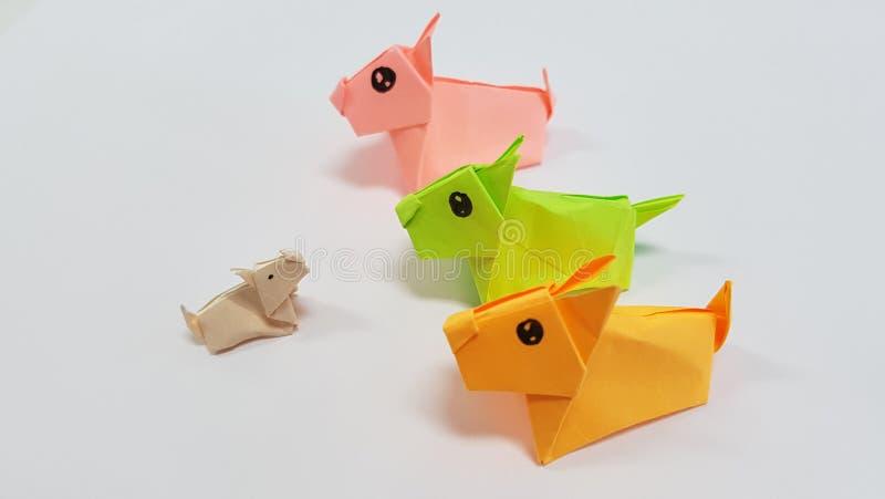 Fridolin - Funny Origami - Dogs, big   451x800