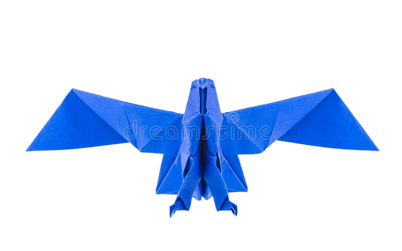 Origami eagle royalty free stock images