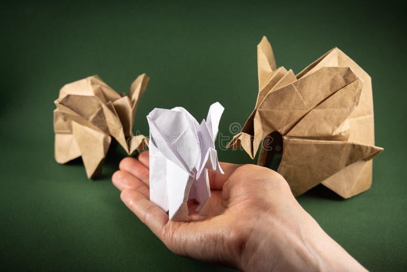 Money Origami Elephant Image & Photo (Free Trial) | Bigstock | 533x800
