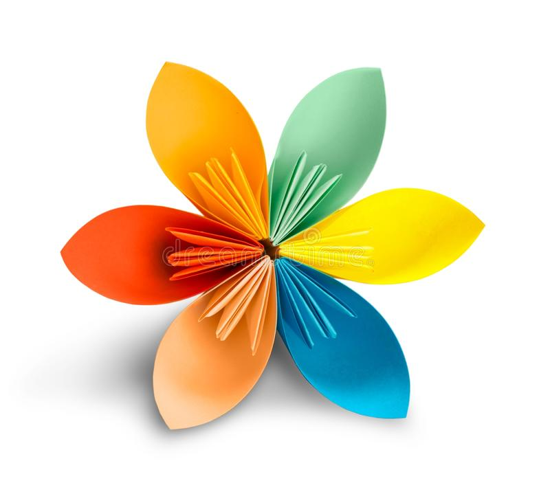 Download Origami Esotici Del Fiore Su Un Fondo Bianco Fotografia Stock - Immagine di creatività, coltura: 117976668