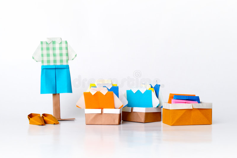 Download Origami fashion stock photo. Image of crafts, origami - 2672336