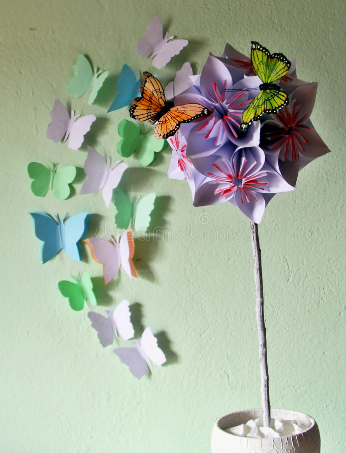 Origami flower ball stock image image of butterflies 67787811 download origami flower ball stock image image of butterflies 67787811 mightylinksfo