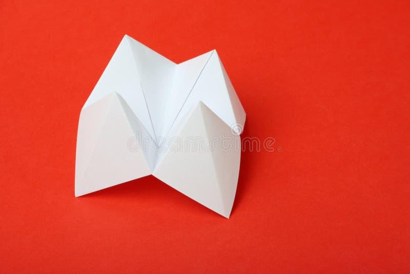 Origami Fortune Teller stock image
