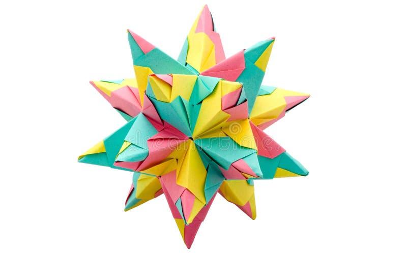 origami gwiazda obrazy royalty free