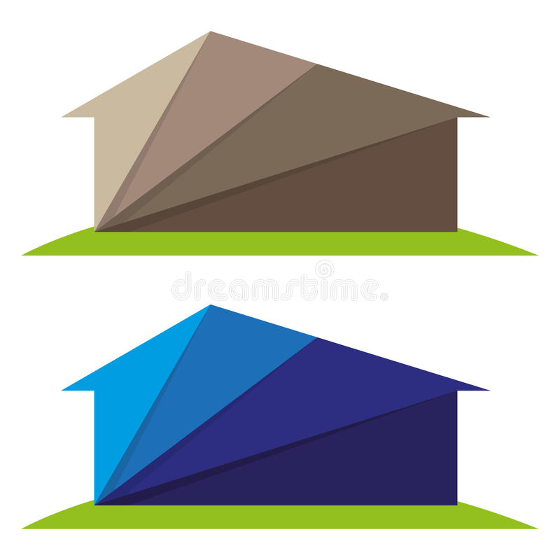 Download Origami House Stock Vector Illustration Of Paper Estate