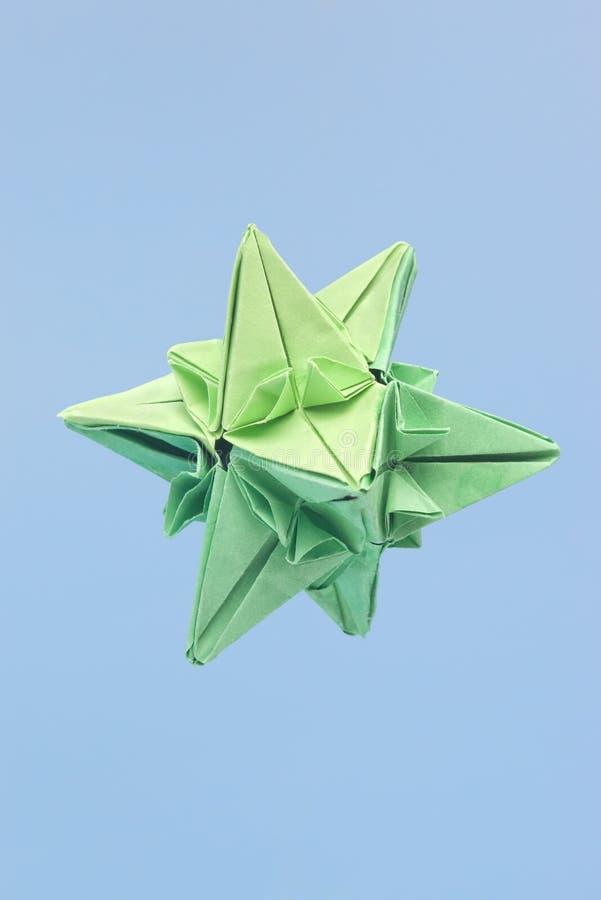 origami kształtująca gwiazda zdjęcie royalty free