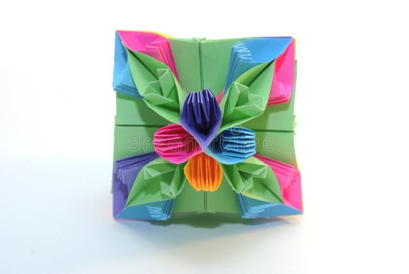 Origami kusudama lizenzfreie stockfotografie