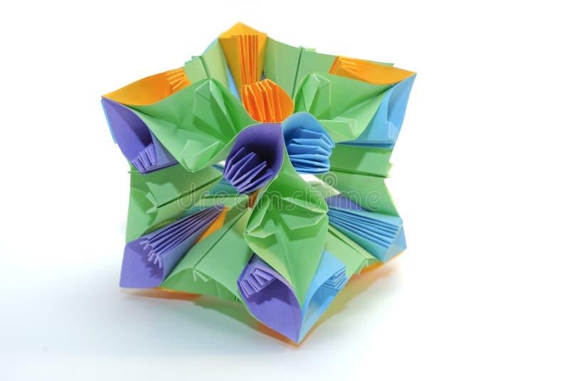Origami kusudama stock photos