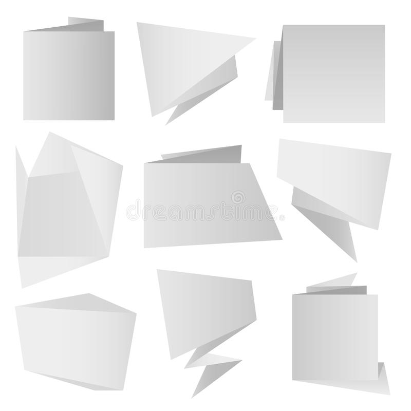 Download Origami paper stock vector. Image of paper, origami, background - 19585228