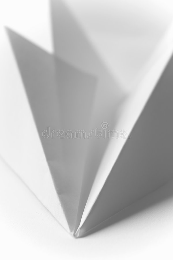 Origami - Paper Airplane royalty free stock image