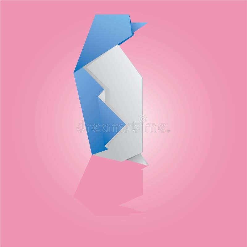 Download Origami Penguin stock vector. Illustration of fold, paper - 28613862