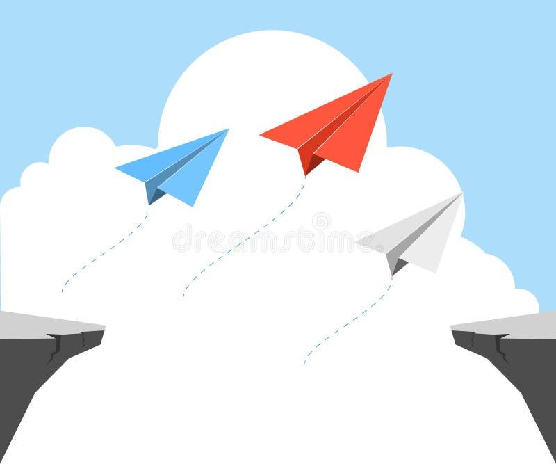 Origami samolot zdjęcie royalty free