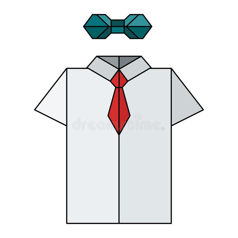 Origami Shirt Tutorial - Make an Origami Shirt and Tie | The ... | 800x800