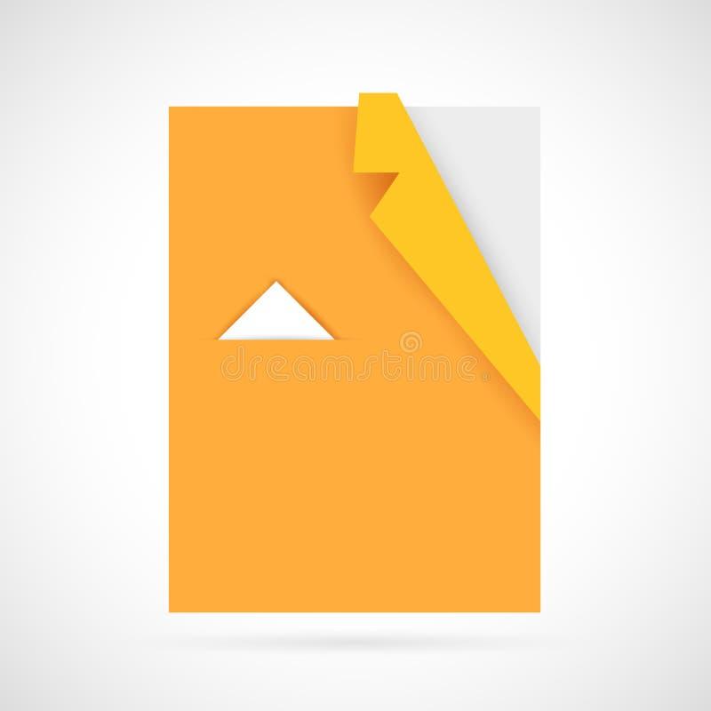 Origami Shirt vector illustration