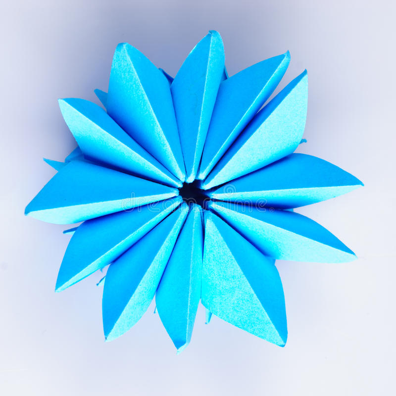 Origami Snowflake Stock Images