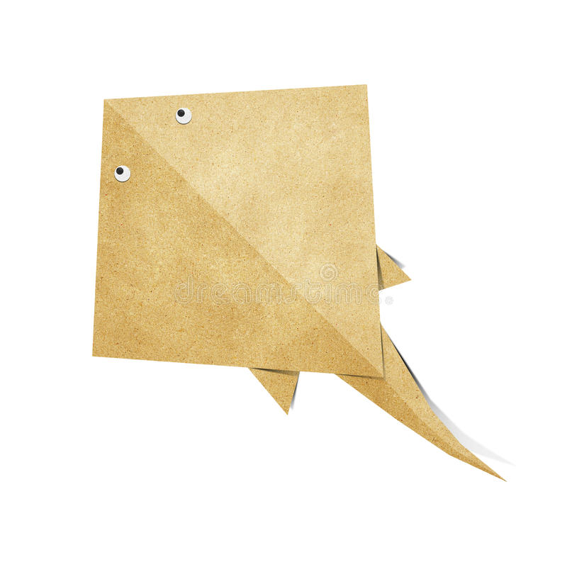 Download Origami Stingray Recycled Papercraft Stock Illustration - Image: 25081737
