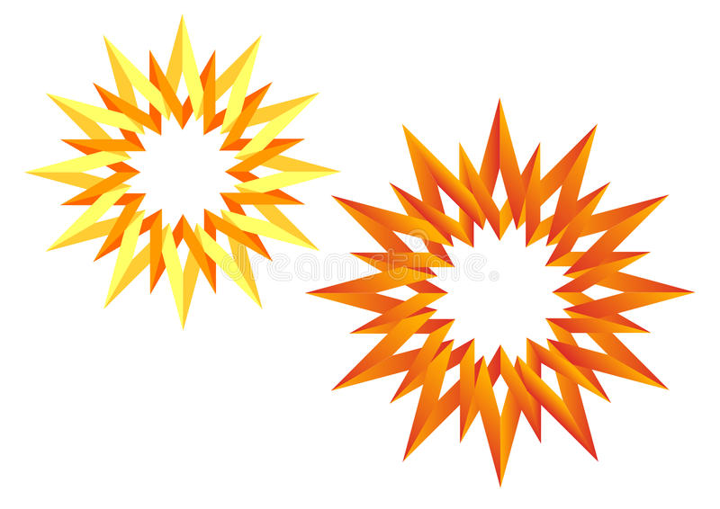 Download The origami Sun stock image. Image of rays, orange, yellow - 24645121