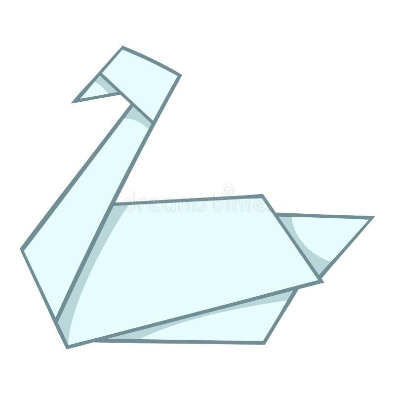 Origami swan Royalty Free Vector Image - VectorStock | 800x800