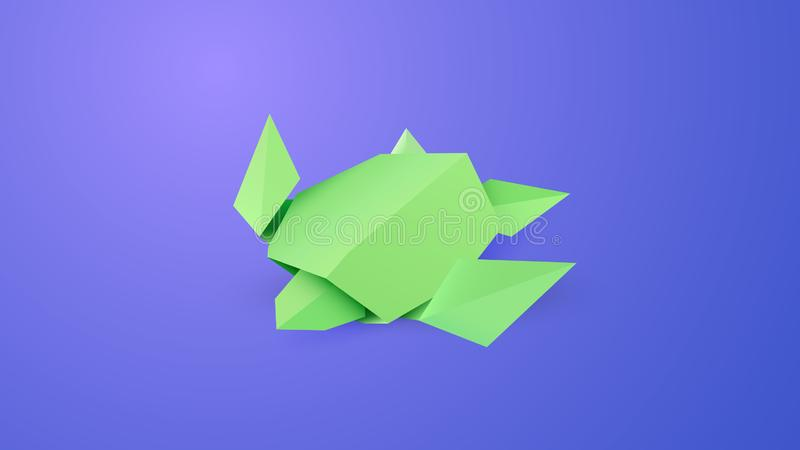 How to Make an Origami Turtle in 2020 | Origami turtle, Origami ... | 450x800