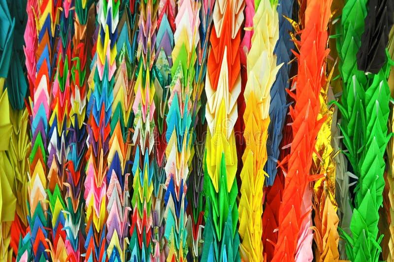 Origami w Japonia zdjęcie royalty free