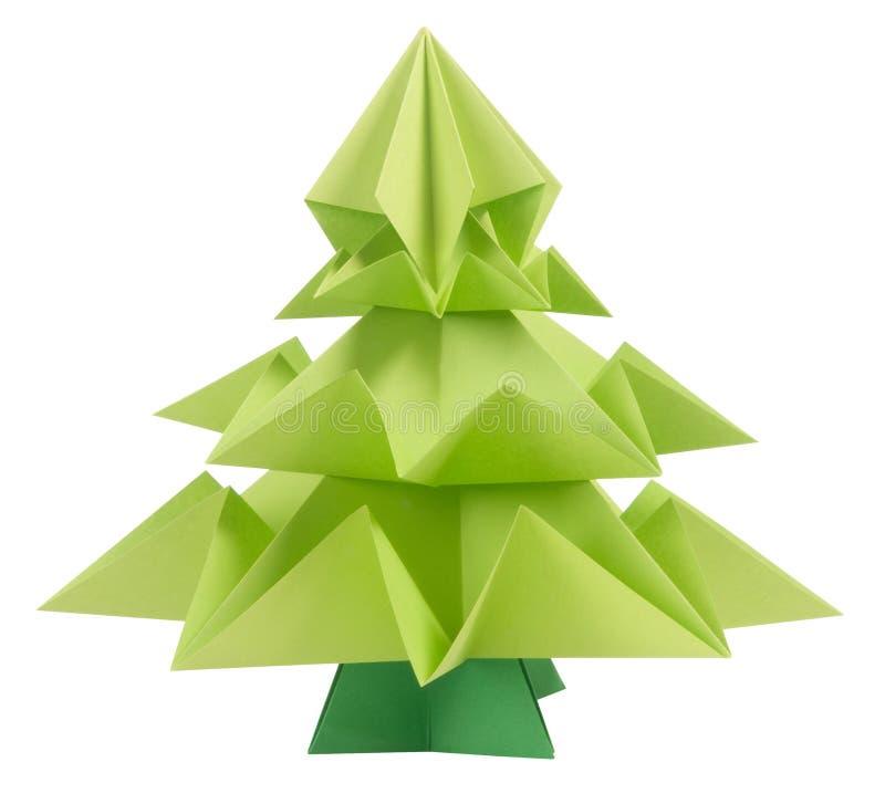 origami weihnachtsbaum stockbild bild von asien japan. Black Bedroom Furniture Sets. Home Design Ideas