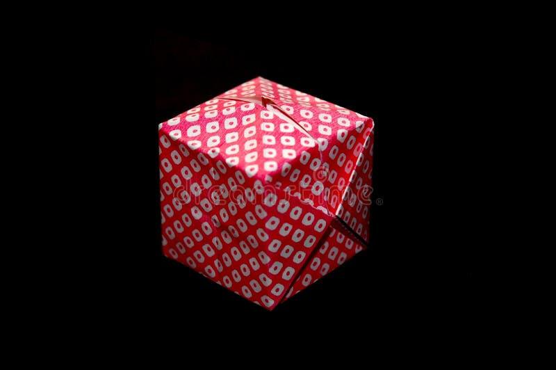 Origamicube stockbild