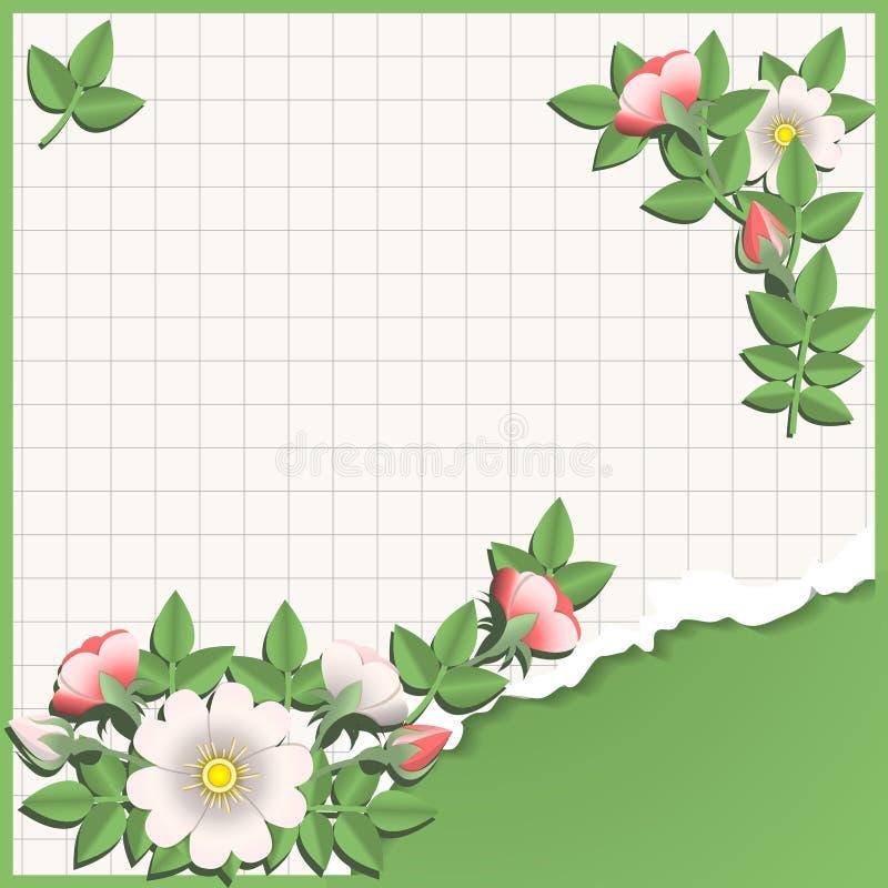 origamiskola stock illustrationer