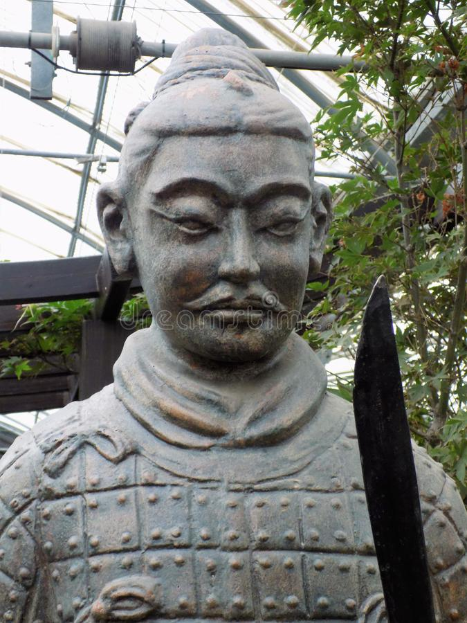 origen Escultura-chino - ESPAÑA fotografía de archivo libre de regalías