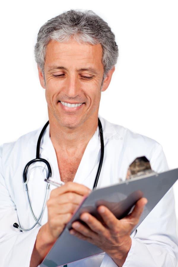 Download Originais Da Escrita Do Doutor Foto de Stock - Imagem de pediatrician, mão: 12808856