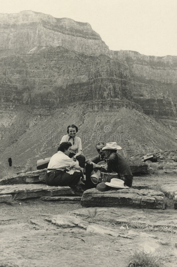 Download Original 1940 Antique Photo - Grand Canyon Stock Photo - Image: 1489312