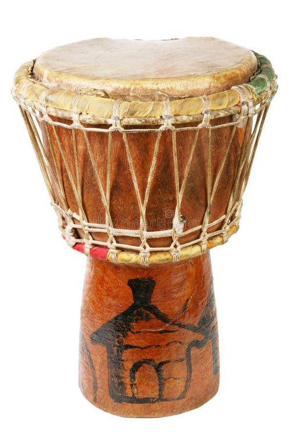 original africain de tambour de djembe images libres de droits
