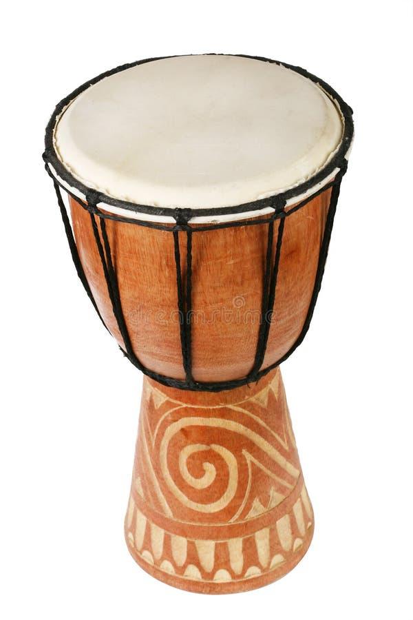 original africain de tambour de djembe photographie stock libre de droits