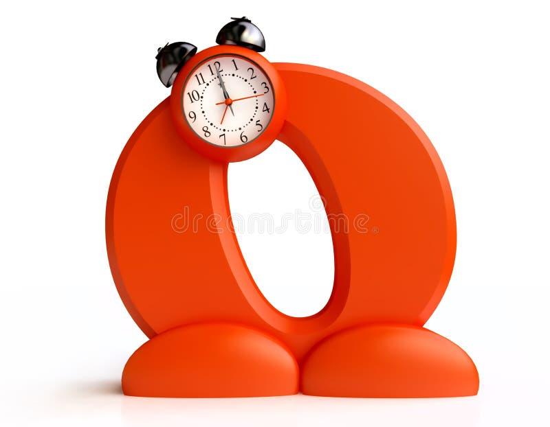 Download Original Alarm Clock stock illustration. Illustration of abstract - 20421599