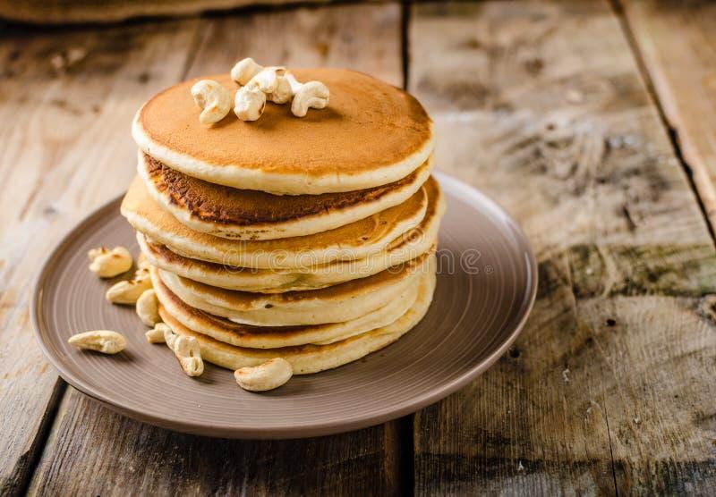 Original- amerikanska pannkakor arkivbild