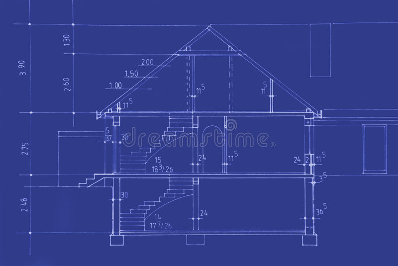 Download Original Blueprint stock image. Image of architecture - 2891831