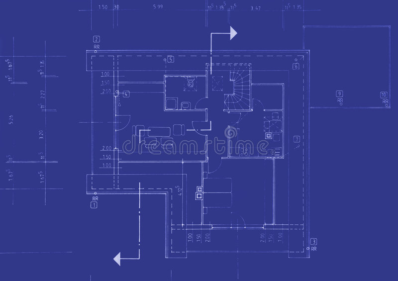 Download Original Blueprint stock image. Image of industry, construction - 2940951